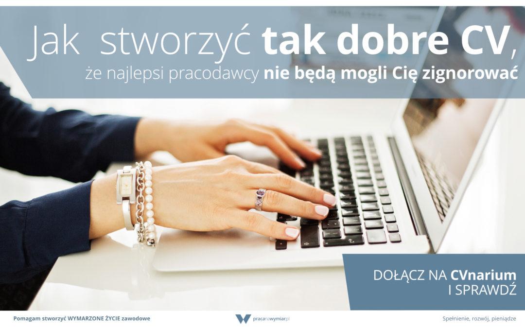 CVnarium – zaproszenie na webinar o CV