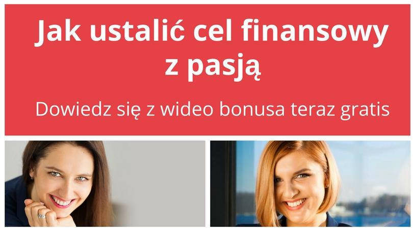 Jak ustalić cel finansowy z pasją – zaproszenie na webinar