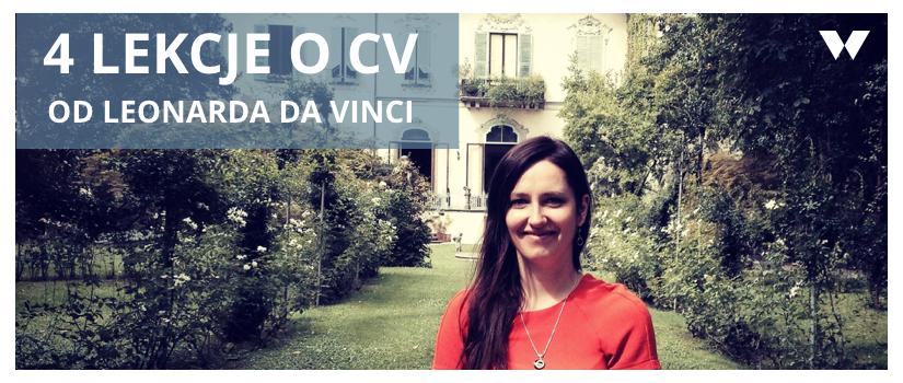 4 lekcje o CV od Leonarda Da Vinci