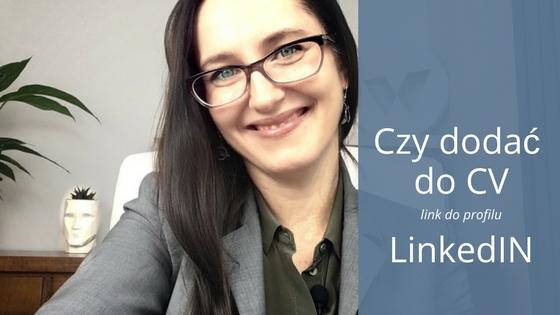 Czy warto dodawać w CV link do profilu LinkedIn