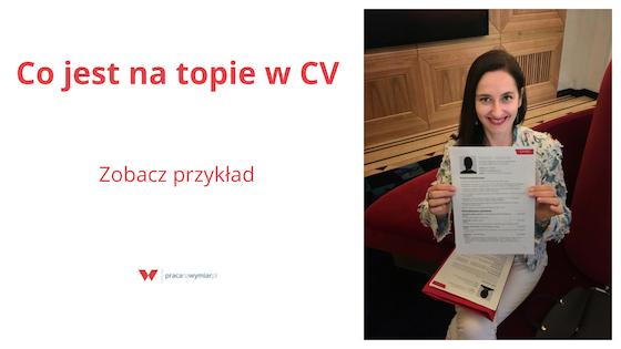 Jak napisać CV na topie