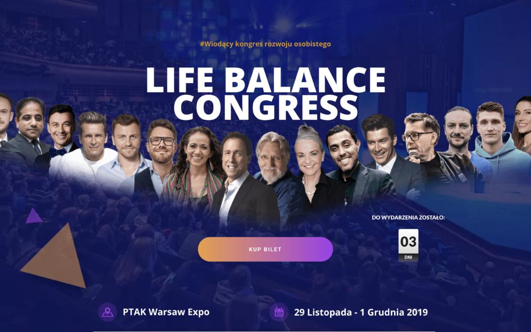 Zintegruj pracę z życiem – przybądź na kongres