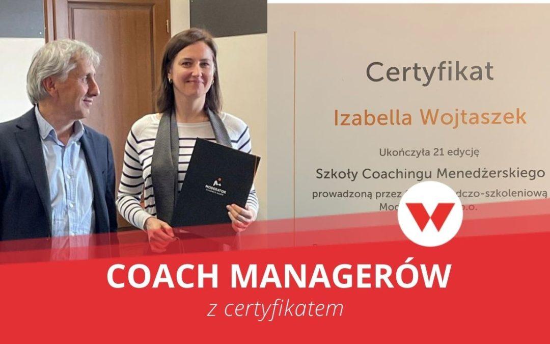 Certyfikowany coach managerski